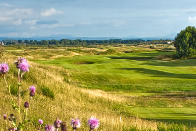 Dundonald Links 16th hole